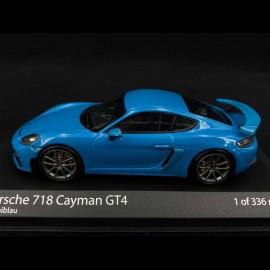 Porsche 718 Cayman GT4 type 982 2020 Miamiblau 1/43 Minichamps 410067602