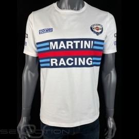 T-Shirt Martini Racing Weiß - Herren Sparco 01274MRBI