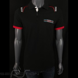 Martini Racing Polo-shirt Schwarz Sparco 01276MR