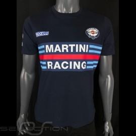 T-Shirt Sparco Martini Racing Dunkelblau- Herren 01274MRBM