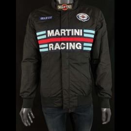 Sparco Martini Racing Team Jacke Bomber design Schwarz - Herren 01281MRNR