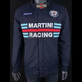 Sparco Martini Racing Team Jacke Bomber design weiß - Herren 01281MRBI