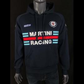 Sweatshirt Sparco Martini Racing Hoodie Dunkelblau- Herren 01279MRBM