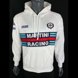Sweatshirt Sparco Martini Racing Hoodie weiß - Herren 01279MRBI