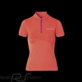 Porsche Polo Shirt Sport Collection Koralle / Rosa WAP538M0SP - Damen