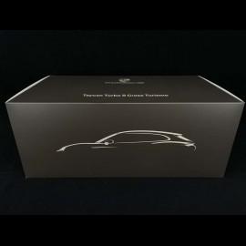 Porsche Taycan Turbo S Cross Turismo 2021 Mamba grün metallic 1/18 Minichamps WAP0217830M001