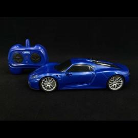 Porsche 918 Spyder Ferngesteuert Saphir blau 1/24 Porsche MAP02481018