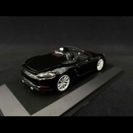Porsche 718 Spyder type 982 2020 Schwarz 1/43 Minichamps 410067701