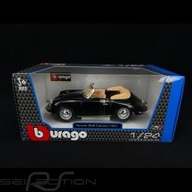 Porsche 356 B Cabriolet 1961 schwarz 1/24 Burago 22078