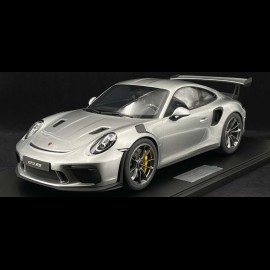 Vorbestellung Porsche 911 GT3 RS typ 991 2018 Silber GT 1/8 Minichamps 800640001
