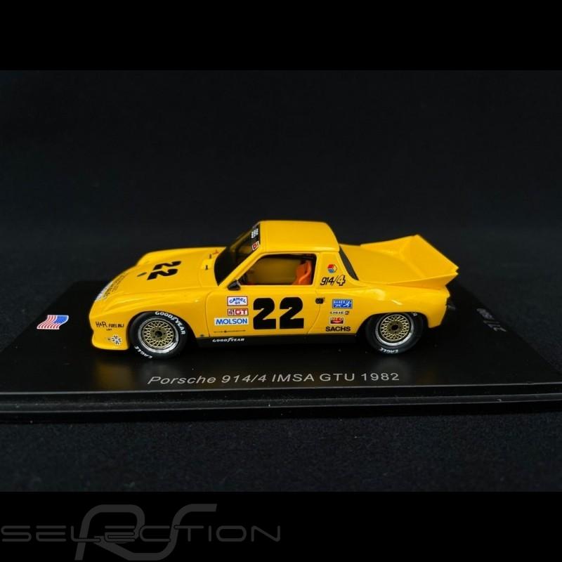 Porsche 914 /4 n° 22 IMSA GTU 1982 1/43 Spark US056