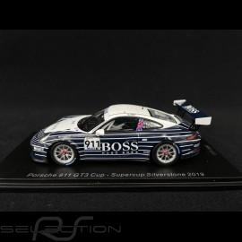 Porsche 911 GT3 Cup typ 991 n° 911 Supercup Silverstone 2019 1/43 Spark UK006