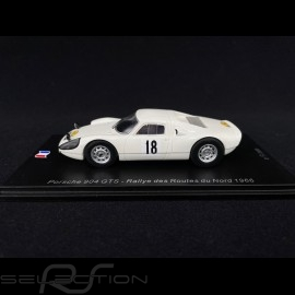 Porsche 904 GTS n° 18 Rallye des routes du Nord 1966 1/43 Spark SF166