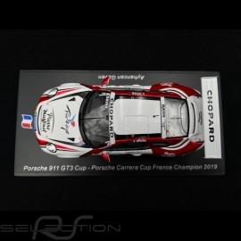 Porsche 911 GT3 Cup typ 991 n° 1 Champion Porsche Carrera Cup France 2019 1/43 Spark SF108
