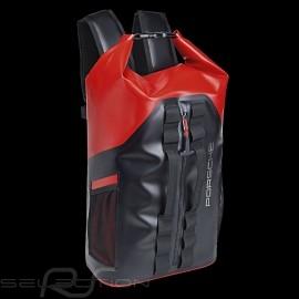 Seesack Porsche Active Rucksack wasserdicht und widerstandsfähig Schwarz / Rot WAP0350040MACB