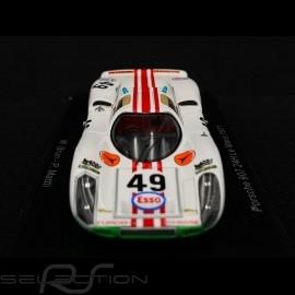 Porsche 907 n° 49 Wicky Racing Team Le Mans 1971 1/43 Spark S9773