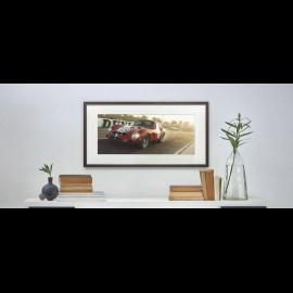 "Luxusrahmenkunstwerk ""Not Sterling without Stirling"" 50 x 24 cm"