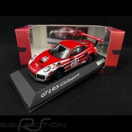 Porsche 911 GT2 RS Clubsport type 991.2 Salzburg Design 2018 1/43 Spark WAXL2000006