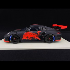 Porsche GT2 RS Clubsport Red Bull 2019 Schwarz Rot 1/18 Spark 18S514
