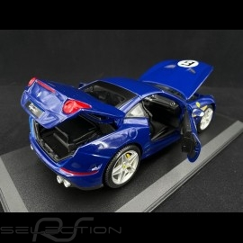 "Ferrari California T n° 6 ""The Sunoco"" 70. Jahrestag blau 1/18 Bburago 76104"