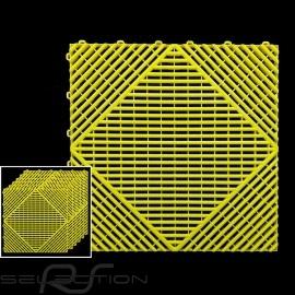 Garagenplatten Farbe Gelb RAL1016 - 15 Jahre Garantie - Satz mit 6 Platten von 40 x 40 cm
