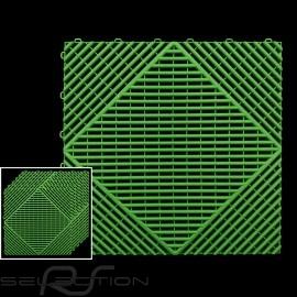 Garagenplatten Farbe Grün RAL6001 - 15 Jahre Garantie - Satz mit 6 Platten von 40 x 40 cm