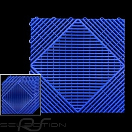 Garagenplatten Farbe Blau RAL5005 - 15 Jahre Garantie - Satz mit 6 Platten von 40 x 40 cm