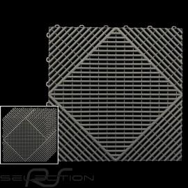 Garagenplatten Farbe Anthrazitgrau RAL7016 - 15 Jahre Garantie - Satz mit 6 Platten von 40 x 40 cm