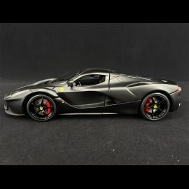 Ferrari LaFerrari 2013 matte black 1/18 Bburago 16901