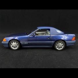 Mercedes-Benz 500 SL Cabriolet 1989 Blue Metallic 1/18 Norev 183717