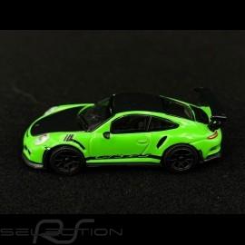 Porsche 911 GT3 RS type 991 Weissach pack Lizard green 1/87 Schuco 452660000