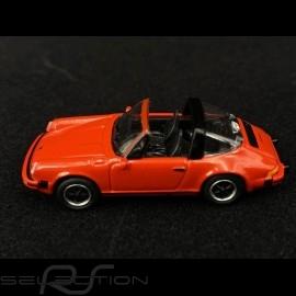 Porsche 911 Carrera 3.2 Targa Type G Red 1/87 Schuco 452656400