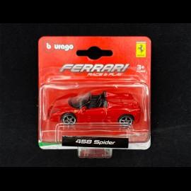 Ferrari 458 Spider Red 1/64 Bburago 56000