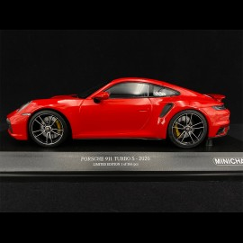 Porsche 911 Turbo S Type 992 2020 Rot 1/18 Minichamps 153069075 - Exklusivmodell