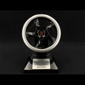 Wheel Porsche 993 Turbo 1995 black silver 1/5 Minichamps 500601994