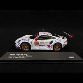 Porsche 911 GT3 RSR Type 991 n° 912 Petit Le Mans 2018 1/43 IXO MODELS LE43048