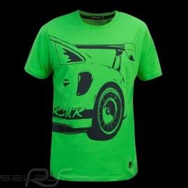 Porsche T-shirt Manthey Racing Porsche 911 GT3 RS MR Green - men