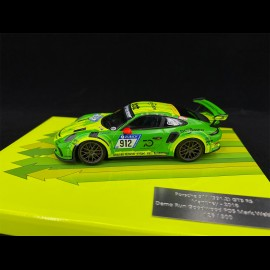 Porsche 911 GT3 RS Type 991 n° 912 Demo Run Goodwood 2018 1/43 Minichamps MG-M-911-18-4305