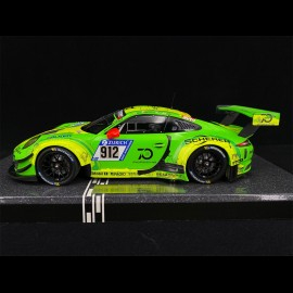 Porsche 911 GT3 R Type 991 n° 912 Sieger 24h Nürburgring 2018 1/18 Minichamps MG-M-911-18-1801