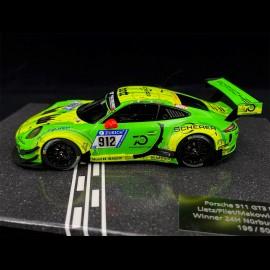 Porsche 911 GT3 R Type 991 n° 912 Winner 24h Nürburgring 2018 1/43 Minichamps MG-M-911-18-4301