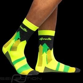Manthey Racing socks Porsche 911 GT3 R Grello yellow / green - unisex