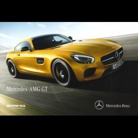 Mercedes Broschüre Modellreihe Mercedes - AMG GT 2014 10/2014 in Französich MEGT4000-01