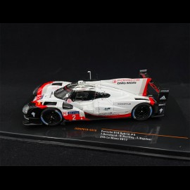 Porsche 919 Hybrid n° 2 Sieger 24H Le Mans 2017 1/43 IXO Models IXOSP919-4316