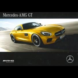 Mercedes Broschüre Modellreihe Mercedes - AMG GT 2016 03/2016 in Französich MEGT4002-03