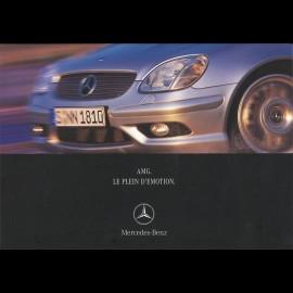 Mercedes Broschüre Mercedes-Benz AMG Le Plein d'Emotion 2001 02/2001 in Französich AG004033-01