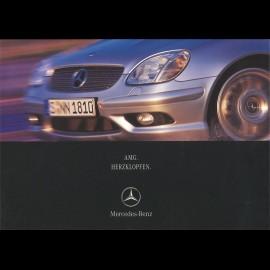 Mercedes Broschüre Mercedes-Benz AMG Herzklopfen 2001 02/2001 in Deutsch AG004033-02