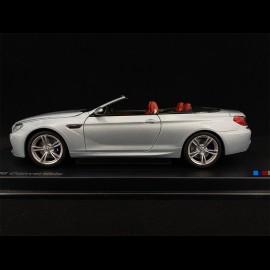 BMW M6 Cabriolet F12 Silberblau 1/18 Paragon 80432253656