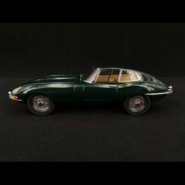 Jaguar E Typ RHD 1961 British Racing Grün 1/18 Kyosho KYO8954G0