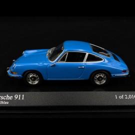 Porsche 911 Coupé 1964 pastellblau 1/43 Minichamps 430067134