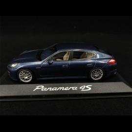 Porsche Panamera 4S blau 1/43 Minichamps WAP02000419